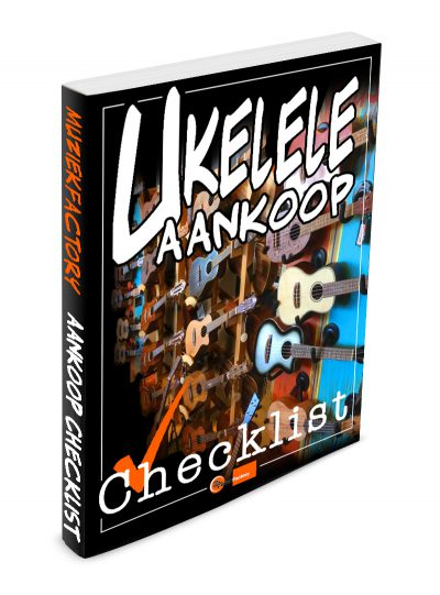 Ukelele aankoop checklist e-book